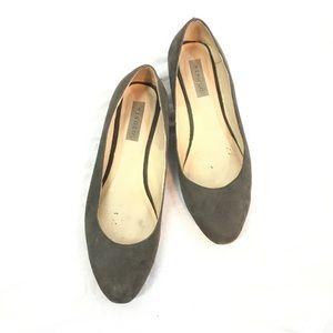 Nisolo Suede Ballerina Flats